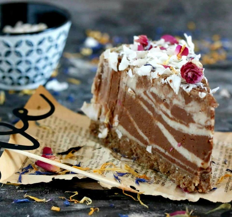 Sirova torta od vanilije i čokolade