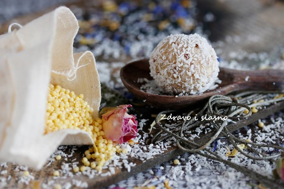 Slatke kuglice od prosa i limuna