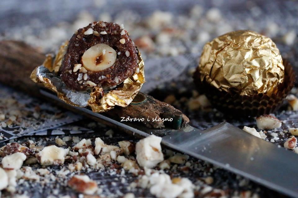 A la Ferrero truffles